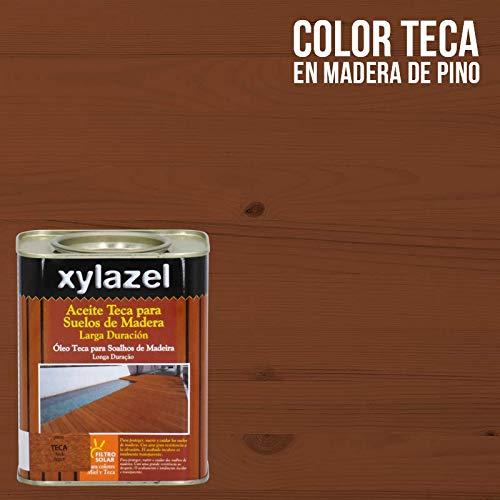Xylazel 0631203 Aceite Teca Suelos