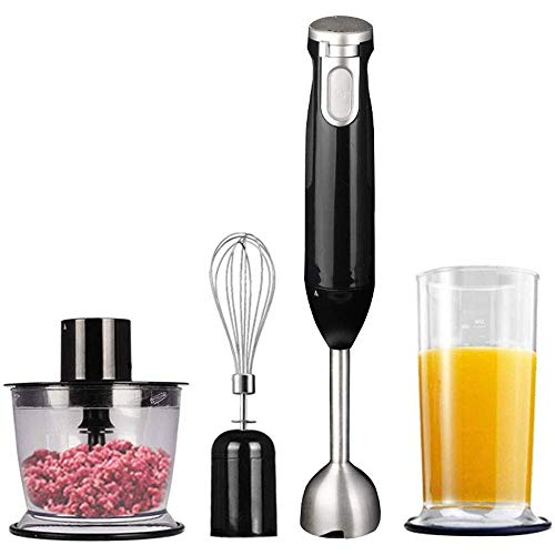Read About CEHNXIU Immersion Hand Blender Hand Blender Stick with Food Chopper, Mixing Beaker, Stain...