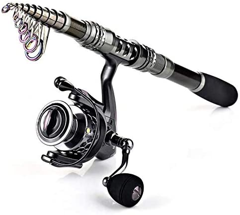GSPORTFIS Carbon Fiber Spinning Attention brand Fishing and Ree Translated Pole Rod