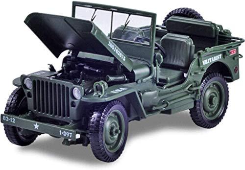 Paelf Modelo de aleación de Autos 1:18 Modelo de Coche de Juguete de WWII de la Vendimia Modelo de Coche clásico 1:18 Aleación de automóvil Aleación de Juguetes Coche Metal Modelo Modelo de automóvil