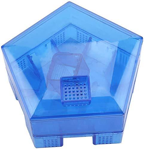 PESGONE Caja de Trampa de Cucarachas, Trampa de Plástico para Cucarachas, Seguro, Reutilizable, No Tóxico, Ecológico, para La Cocina Casera