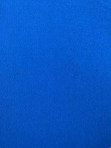Alfombra azul por metro (ancho 2 metros) con película – Moquetas perforadas