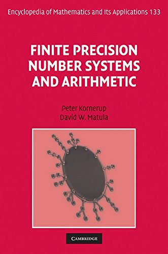 Compare Textbook Prices for Finite Precision Number Systems and Arithmetic Encyclopedia of Mathematics and its Applications 1 Edition ISBN 9780521790178 by Kornerup, Peter,Matula, David W.
