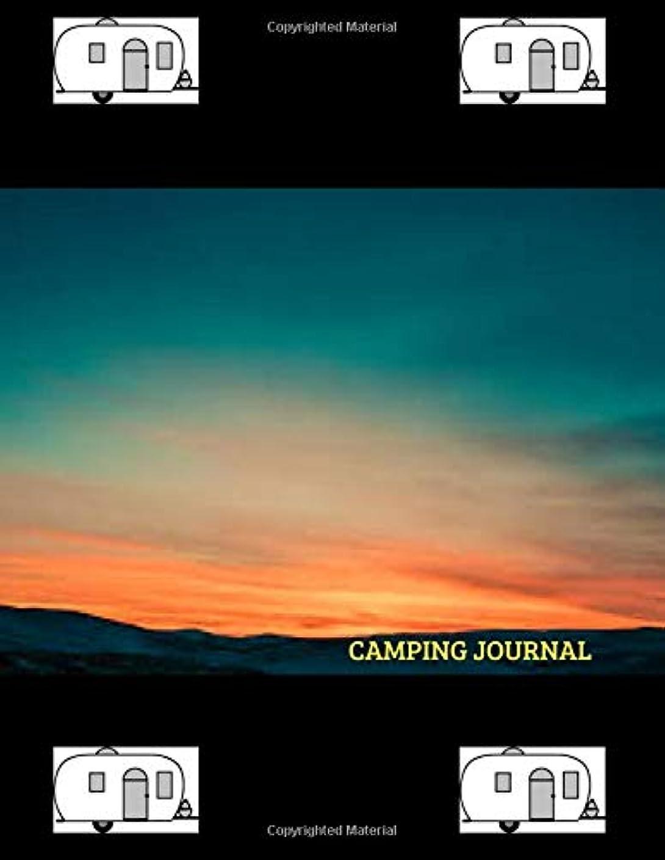 出席適合しました血色の良いCamping Journal: Over 110 Pages with Prompts for Writing, Capture All Your Camping Memories.