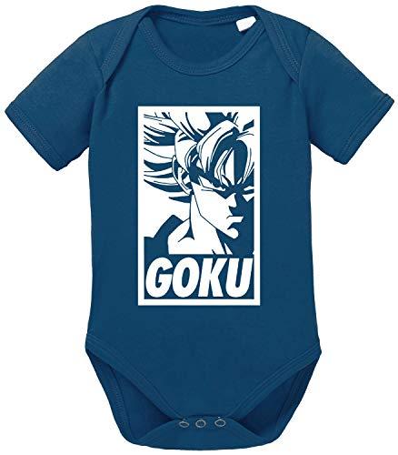 Tee Kiki Goku Rahmen Body Dragon de algodón orgánico Ball Son Proverbs Baby Romper para...