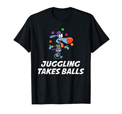 Divertidos malabares con pelotas Camiseta