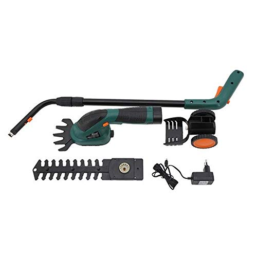 Best Bargain Yjyzdllj 3.6V Cordless Electric Hedge Trimmer,3 In 1 Hedge Trimmer Brush Cutter Pole Sa...