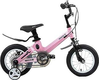 ميجا ستار دراجة الفضاء معدني 12 انش , زهري