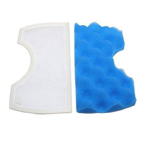 First4Spares-Mezzaluna, colore: blu, Micro filtro per Samsung, SC4340 SC4350, SC4370 & SU3330 aspirapolvere