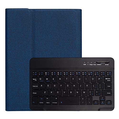 Suitable for iPad Mini5 / 4 RK405 Detachable Plastic Case with Bluetooth Keyboard