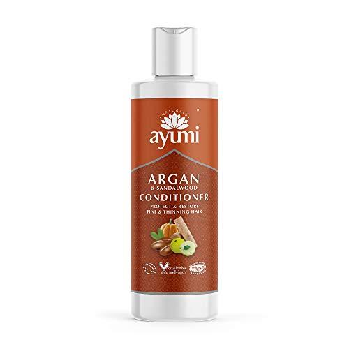 Ayumi Argan & Sandalwood Conditioner. Vegan, Cruelty-Free, Dermatologically-Tested, 1 x 294 ml