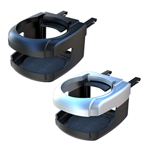 Portabottiglie Per Auto Multifunzionale 2 Pezzi Di Supporto Universale Portatile Per Veicoli Tazza Per Auto Condizionatore Per Bevande Portabicchieri D'aria Automatico Sfiato Bottiglie Portabottiglie