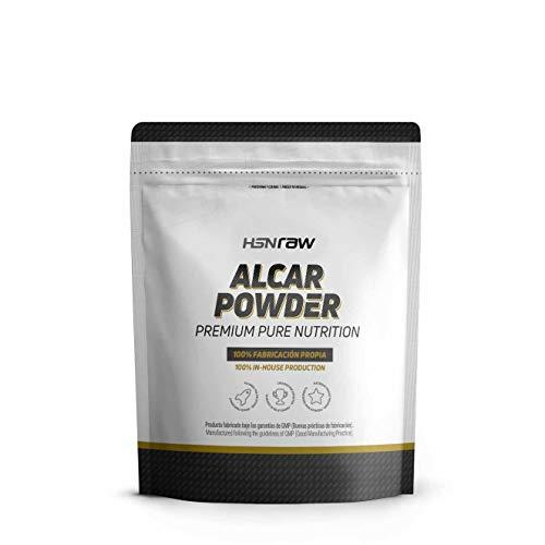 ALCAR (Acetil L-Carnitina) de HSN | Nootrópico, Apoyo Cognitivo, Para Estudiar, Concentración, Efecto Antioxidante | Vegano, Sin Gluten, Sin Lactosa, En Polvo, Sin Sabor, 150g