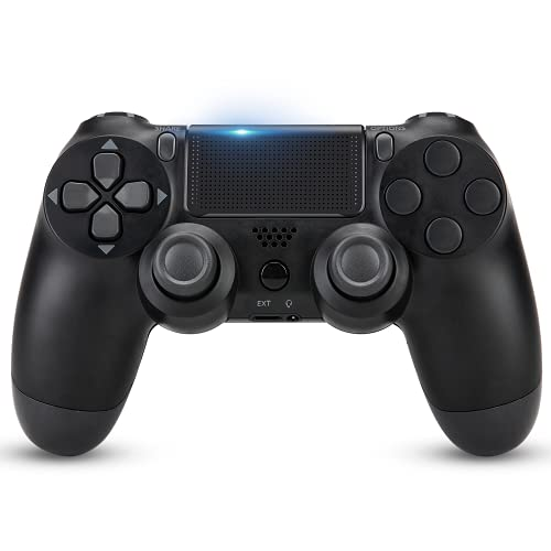 Wireless Controller for PS4,Remote for Playstation 4 with Charging Cable, Game Controller Joystick with Dual Vibration/6-axis Gyro Sensor/Audio Function/1000mAh