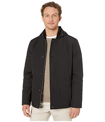 Michael Kors Filled Hooded Outerwear Black MD