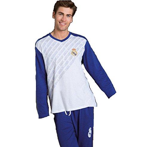 Pijama Hombre REAL MADRID Blanco 2017-2018 (XXL)