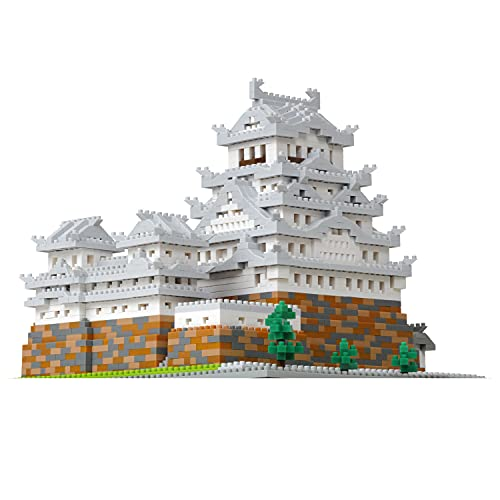 ナノブロック 姫路城 デラックスエディション NB-051