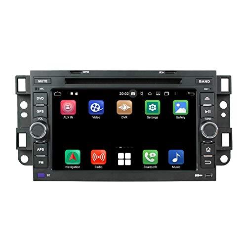 Android 10.0 Autoradio Coche para Chevrolet Aveo/Epica/Lova/Spark/Optra/Captiva, 4 GB RAM 32 GB ROM, 7 Pulgadas Pantalla Táctil Reproductor de DVD Radio Bluetooth Navegación GPS