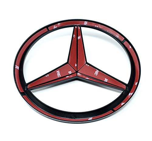 Trunk Rear AMG Emblem Badge 3D Replacement For BENZ AMG C63 C43 S63 GL G63 CLASS ETC Decal Sticker Fender Tailgate CHROME Pack of 1 RENGVO