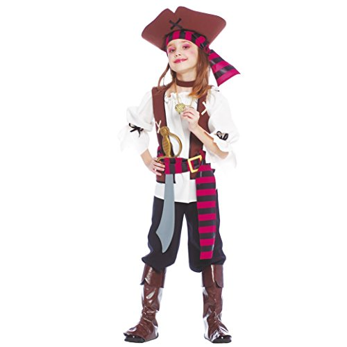 deguisement de fille pirate (7-9 ans)