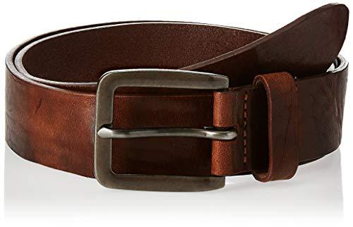 Jack & Jones NOS Herren Gürtel JACVICTOR Leather Belt NOOS, Braun (Mocha Bisque), (Herstellergröße:95)