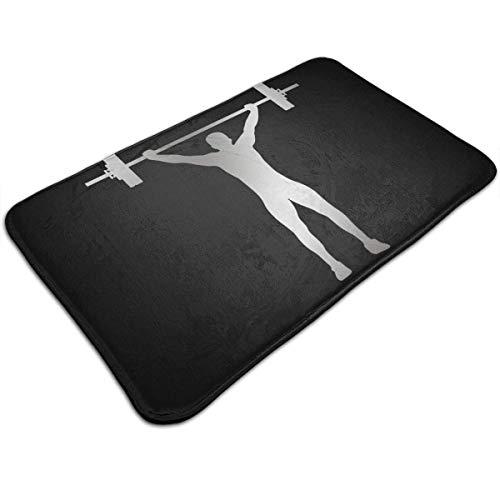 Bag shrots Indoor and outdoor door decoration mat Indoor Carpet Doormats with Weightlifting, 19.5''Wx31.5''L