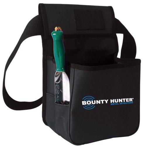 Bounty Hunter Metal Detector Findet Pouch und Grabwerkzeug, Schwarz