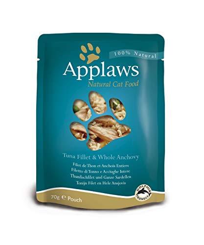 Applaws Cat Super Premium Pouchbeutel 70g 12 x 70 g Hühnerbrust & Wildreis