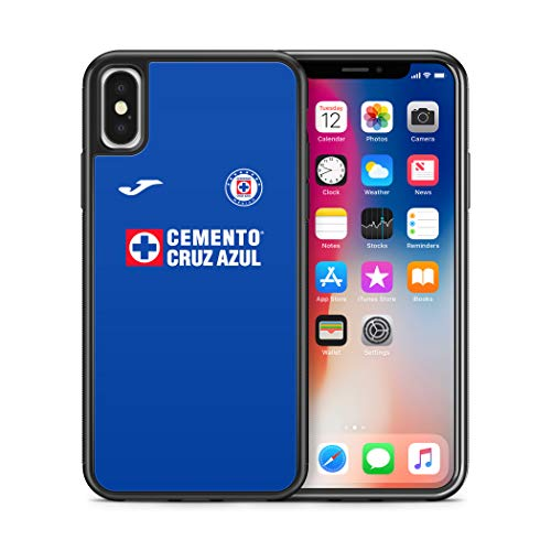 ModifiedCases 2019 Cruz Azul Jersey Bumper Case Compatible with Apple iPhone X