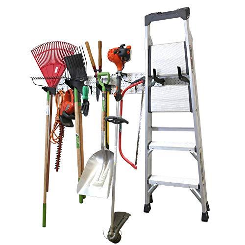 Wall Control Garage Storage Rack Lawn & Garden Tool Organization Wall Mount Organizer - Easy to Install 64