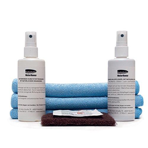 WaterRower Rudergerät Reinigungsset, Weiß, Standard
