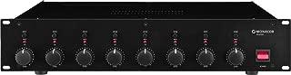 IMG Stage Line STA-850D - Amplificador digital de 8 canales, negro