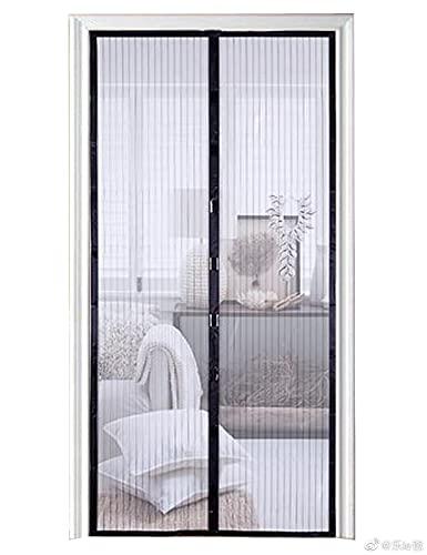Magnetic Screen Door-Self Sealing, Mesh Screen Door with Heavy Duty Mesh Curtain, Pet and Kid Friendly, Fits Doors Up to 39 x 83-Inch