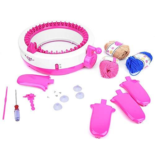 Breimachine, 40 Naalden DIY Handbreimachine Weefkit voor Sjaalmuts Sokken Kinderen Educatief speelgoed Handbreimachine Sjaalweefkit