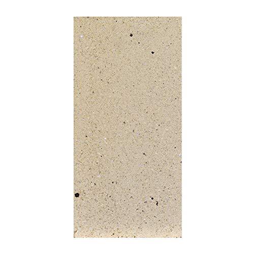Schamottestein (formgepresst) 64 mm stark, Abmessung 250 x 124 mm