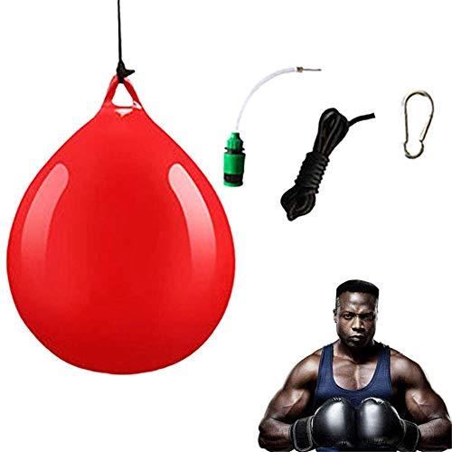 Saco de boxeo para agua Saco de boxeo para colgar Saco de boxeo Saco pesado lleno de agua con herramienta de inyección de agua, gancho y cabestrillo