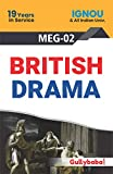 Gullybaba Ignou MA (Latest Edition) MEG-2 British Drama, IGNOU Help Books with Solved Sample Question Papers and Important Exam Notes