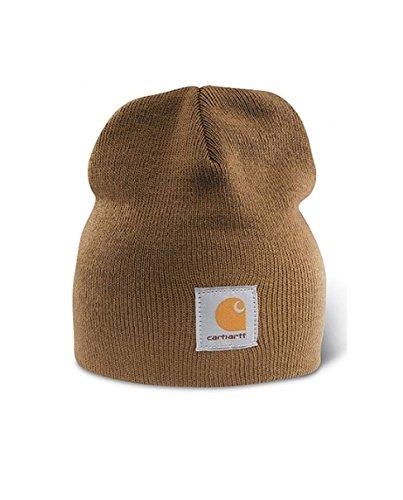 Carhartt Strickbeanie Cap - Braun CHA205BRN Strickmütze Hüte Beanie Mütze Kappe CHA205BRN-Universal