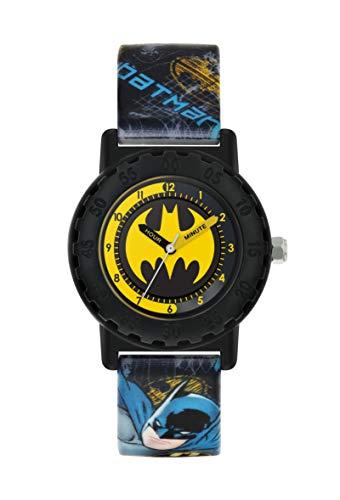 BATMAN Jungen analog Quarz Uhr mit Silikon Armband BAT9548