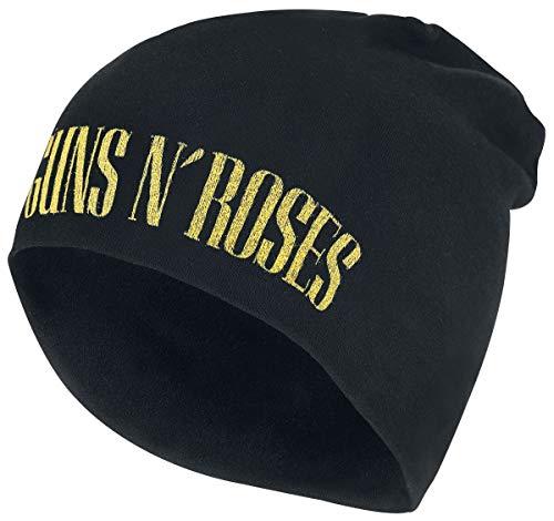 Guns N' Roses Logo - Jersey Beanie Bonnet Noir
