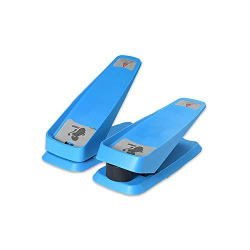 Mini-Stepper, Nuovo Mini Stepper per Attrezzature per Il Fitness Multifunzione Domestica, può ridurre Il Peso, Le Belle Gambe, Il Peso Massimo 100 kg, Dotato di Corda di Allenamento,Blu