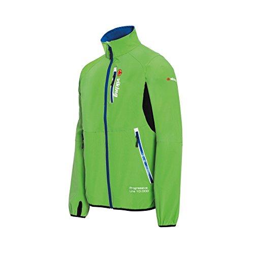 VIKING Veste softshell pour homme - Veste fonctionnelle légère - Idéale pour les cyclistes - Respirante, résistante au vent et à l'eau - Godard, Homme, vert, m
