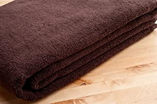 THIRSTY Original Towels, Presidential Collection, 100% NON-GMO Turkish Cotton Bath Sheet 40x80 Ultimate Plush 700+ Gsm-LARGEST TURKISH BATH SHEET IN USA!- TURKISH COFFEE