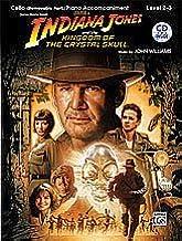 Alfred 00-31788 Indiana Jones y el Reino de la Calavera de Cristal Instrumental Solos for Strings - Music Book