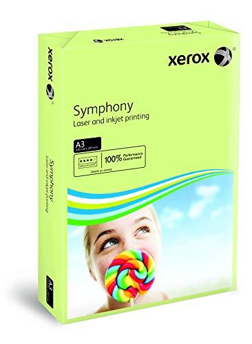Xerox 003R91955 Drucker-/Kopierpapier Symphony, DIN A3, 80 g/m², 500 Blatt, grün