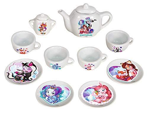 Smoby- Set DE Porcelana ENCHANTIMALS, Color Blanco (310579)