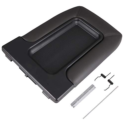 Black OCPTY Auto Center Console Lid Repair Kit for 2001 2002 2003 2004 2005 2006 2007 GMC Sierra Chevrolet Silverado