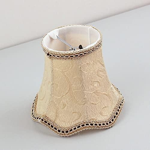 WNAVX Cubiertas de lámpara de Franela Populares para lámpara de lámpara para lámpara de Pantalla para lámpara de Pared, Clip en (Color : As Shown)