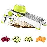 Shangmeite Mandoline Slicer Multi-Functional Adjustable Fruit Vegetable Slicer