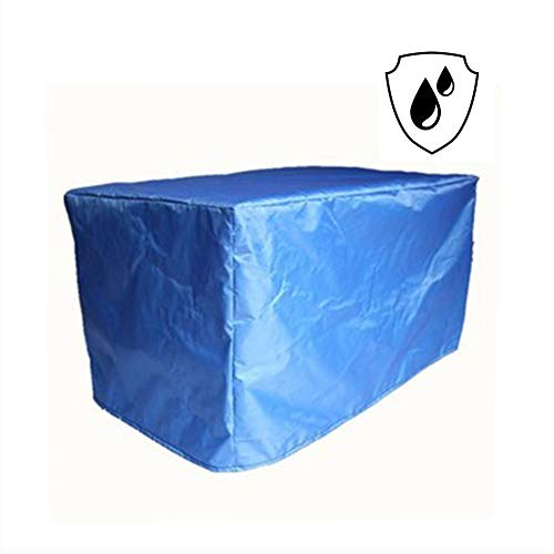 NINGWXQ Garden Furniture Cover Waterproof Oxford Organisatie Dust-proof Anti-UV Patio Set Cover, Meerdere Maten (Color : Blue, Size : 2x1x2m)